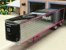 1/64 DCP CHROME/PINK 53' THERMO KING REEFER TRAILER
