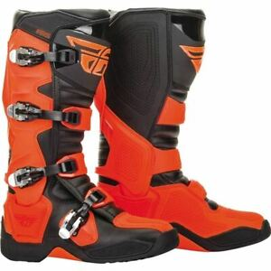 Orange/Black Sz 9 Fly Racing FR5 Boots