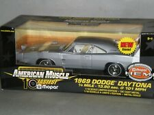 1/18th 1969 Dodge Charger Daytona Silver/White