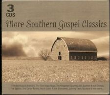 More Southern Gospel Classics, 3CDs,Johnny Cash,The Carter Family Etc,New Sealed