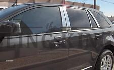 Ford Edge chrome pillar post trim stainless steel trim 8 piece 07-2014