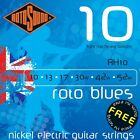 ROTOSOUND RH10 BLUE LIGHT TOP HEAVY BOTTOM ELECTRIC GUITAR STRINGS 10-52 2 PACKS for sale