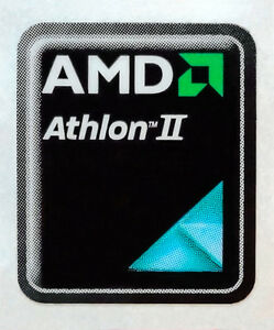 AMD Athlon II Sticker 17 x 21mm Case Badge Logo Label USA Seller