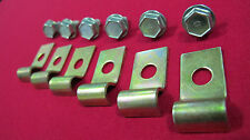 FORD FALCON XW XY XA XB GT GS FUEL LINE BOLT AND CLAMP KIT SUIT 3/8 PIPE 351