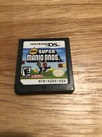 New Super Mario Bros. (Nintendo DS, 2006) Cartridge Only