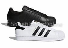 Men's Adidas Originals Superstar Shoes Trainers White Black AF5666 C77124