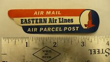 Eastern Airline mail sticker airmail parcel post luggage sticker with glue