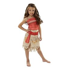 de8ba1c48308 Moana Girls Adventure Outfit Set Layered Skirt Costume Theater Size 4-6X