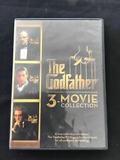 The Godfather Collection (Dvd, 2015, 3-Disc Set) Free Shipping