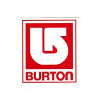 Burton Snowboards 7.5cm travel suitcase luggage skateboard decal vinyl sticker