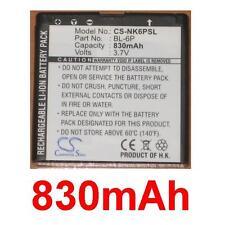 Batería 830mAh tipo BL-6P BP-6P Para Mobiado Profesional 105 Damasco