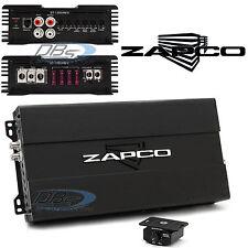 Zapco ST-1350XM ll Monoblock Car Subwoofer Amplifier 1350W RMS Class D Bass Amp