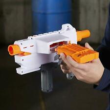 Nerf Mediator Pump Action Blaster Slam Fire Gun N-Strike Elite 6 Darts  +8