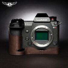Panasonic LUMIX S1 S1R Leather Half Case Camera Retro Cover Insert TP Handmade
