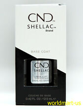 CND Shellac Gel Polish UV/LED Soak-Off #40404- Large Base Coat 0.42fl oz