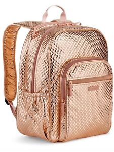 Vera Bradley Rose Gold Campus Backpack NWT LAST ONE!