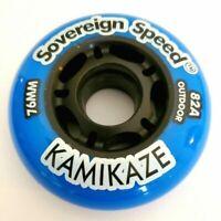 72mm 76mm 80mm Inline Skate Rollerblade Hockey Wheels 1 2 4 8 packs YOU CHOOSE