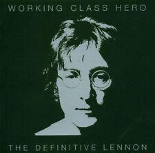 """JOHN LENNON """"WORKING CLASS HERO (BEST OF)"""" 2 CD NEW"""