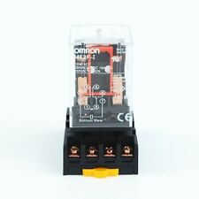 MK2P-I DC 12V Coil 8 Pins  Power Relay With PF083A Socket Base
