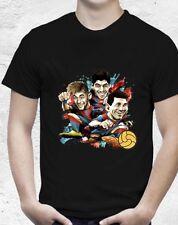Brand New (MSN) Messi, Neymar And Suarez Black Tshirt Size Small  (Aus Seller)
