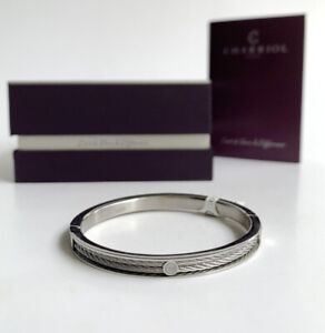Charriol * Bangle Forever Thin 04-101-1139-7S Silver Stainless Steel Small