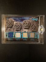 2017 Leaf Q Mount Rushmore Barry Sanders Emmitt Smith Jim Brown Gale Sayers 4/5