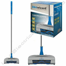 Dirtwizard Super Lightweight Rechargeable Cordless Carpet Sweeper Cleaner