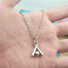 baseball bat silver Necklace pendants fashion accessory,creative jewelry,Gifts
