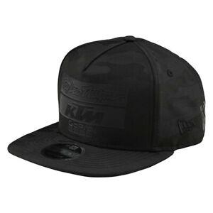 Troy Lee Designs TLD KTM Team Snapback Snap back LTD Camo Black Hat Cap MX ATV