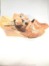 Women Handmade Authentic Mexican Genuine Soft Leather Sandal Huaraches US size 6