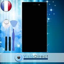 Ecran complet pour Wiko Highway Star noir vitre tactile + ecran LCD + outils