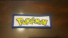 POKEMON PATCH -IRON ON OR SEW ON