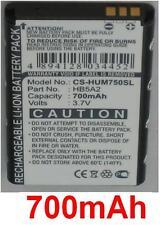 Batería 700mAh tipo BTR7519 HB5A2H Para Huawei C8000