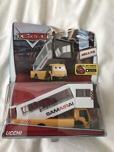 Disney Pixar Cars 2 Ucchi Deluxe Mattel 1.55 Scale BNIB