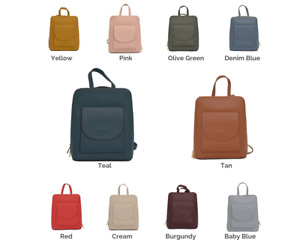 Womens 3 in 1 leather backpack / rucksack, cross body bag, and handbag in one