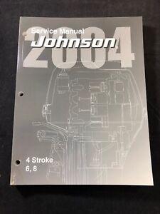 2004 JOHNSON SR 6 8 HP 4-STROKE OUTBOARD SERVICE SHOP REPAIR MANUAL 5005651