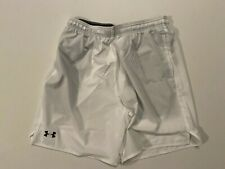 Under Armour New Heat Gear Active Shorts 1510 Men Size Large White