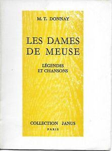 Ardennes - 08 - Hierges, Avaux - Petit livre les dames de Meuse - MT DONNAY