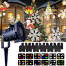 Xmas Party Moving Laser Projector LED Light Garden Lamp Landscape Indoor Outdoor