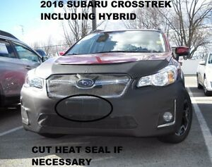 Lebra Front End Mask Bra Fits Subaru XV Crosstrek Incl. Hybrid 2016-2017