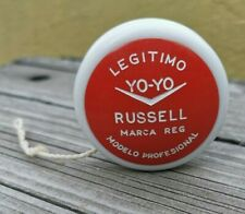 VINTAGE 1970s AUTHENTIC RARE RED COLOR GENUINE YO-YO RUSSELL BY CIPSA MEXICO
