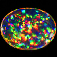11x9 MM OVAL TOP SUPER RAINBOW ELECTRIC ETHIOPIAN FIRE WELO OPAL WHOLESALE PRICE