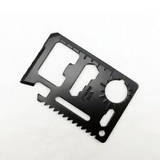 10pcs 11 in 1 Mini Pocket Multi Credit Card Living Survival Outdoor Camping Tool