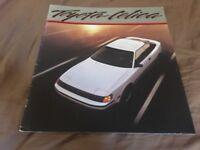 1986 Toyota Celica GT Color Brochure Catalog Prospekt