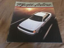 1986 Toyota Celica GT Color Brochure Catalog Prospekt
