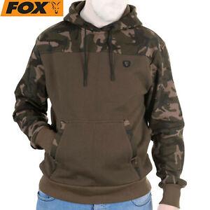 Fox Khaki / Camo Hoody - Angelpullover, Angelbekleidung, Kleidung, Pullover