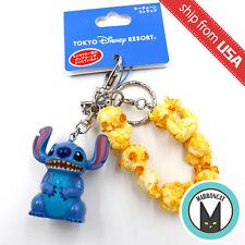 Japan Tokyo Disney Resort Exclusive Stitch Popcorn Bucket Keychain