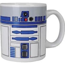 Star Wars Ceramic Coffee/tea Mug - X-wing/princess Leia and Official R2-d2