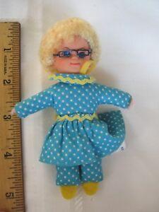 Vintage 1967 Mrs. Beasley Doll Mini Buffy Family Affair Miniature