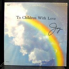 Joy McDonald - To Children With Love, Joy LP VG+ LPS 2073 Private Xian Gospel